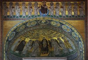 Poreč - apsida Eufrazijeve bazilike